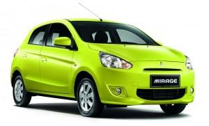 Mirage jaune vert