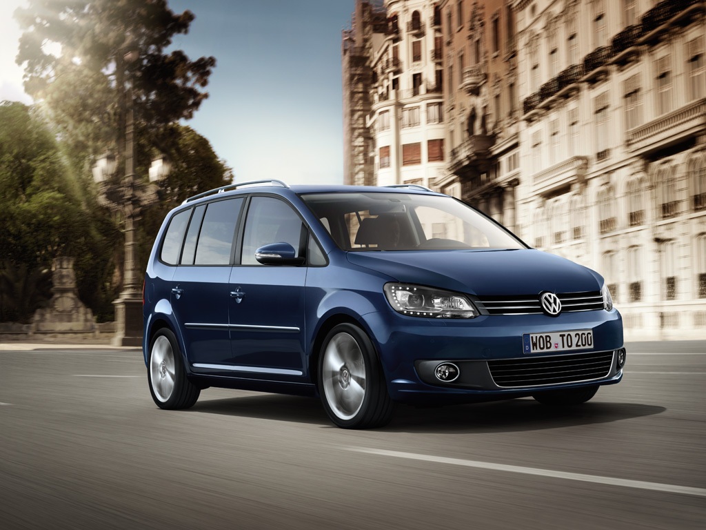 La Volkswagen Touran 7 places